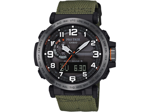 CASIO PRO TREK PRW-6600YB-3ER Watch Men, green/silver /black
